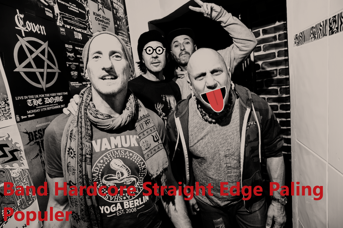 Band Hardcore Straight Edge Paling Populer