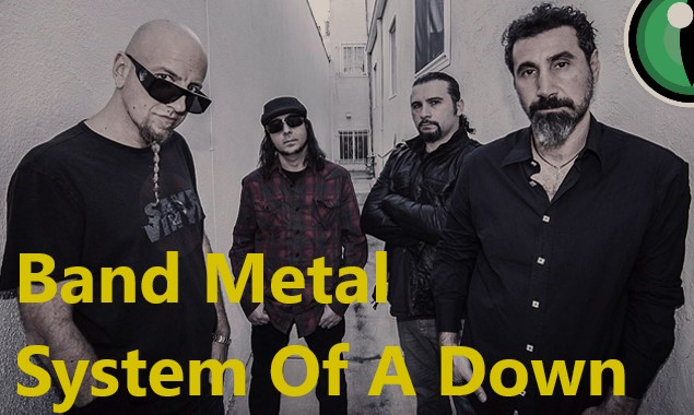 Band Metal System Of A Down